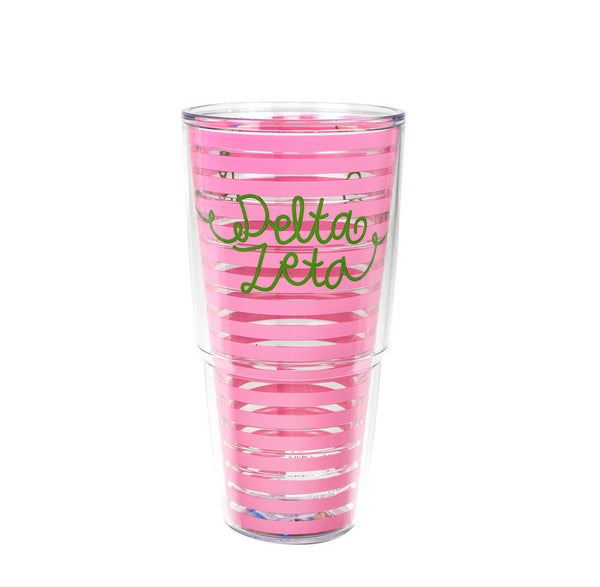 Delta Zeta Tervis Tumbler in fun sorority colors