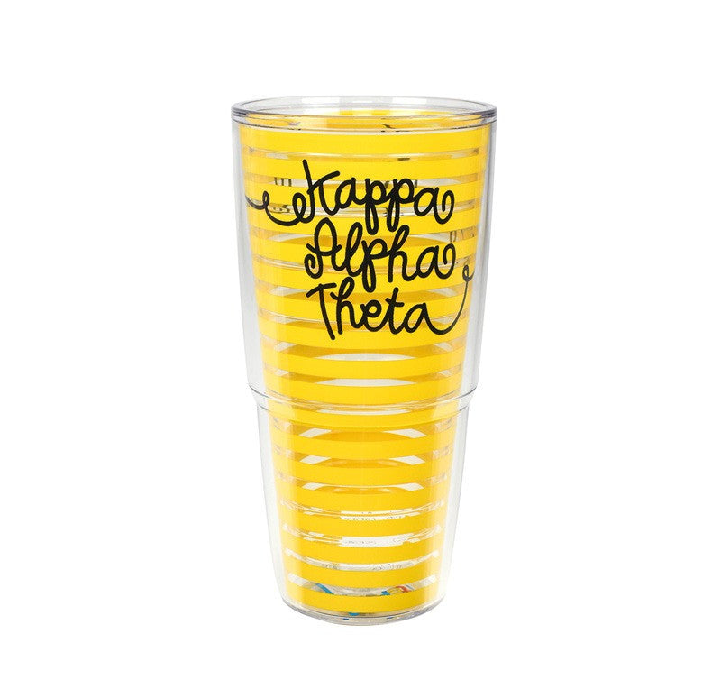 Kappa Alpha Theta Tervis Tumbler in fun sorority colors