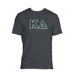 Kappa Delta T-Shirt . Stitched Two Layer Greek Letters