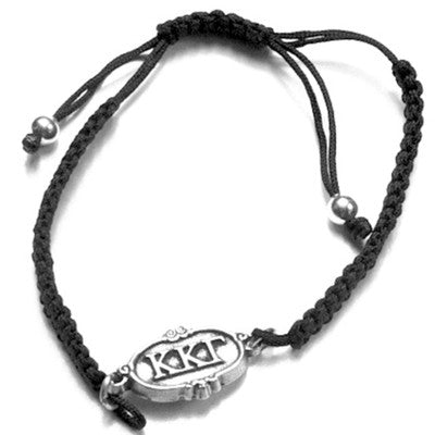 Kappa Kappa Gamma bracelet. The perfect big or little gift! Why? Two great reasons. First, one size fits all. It is adjustable. Second, it is too cute!
