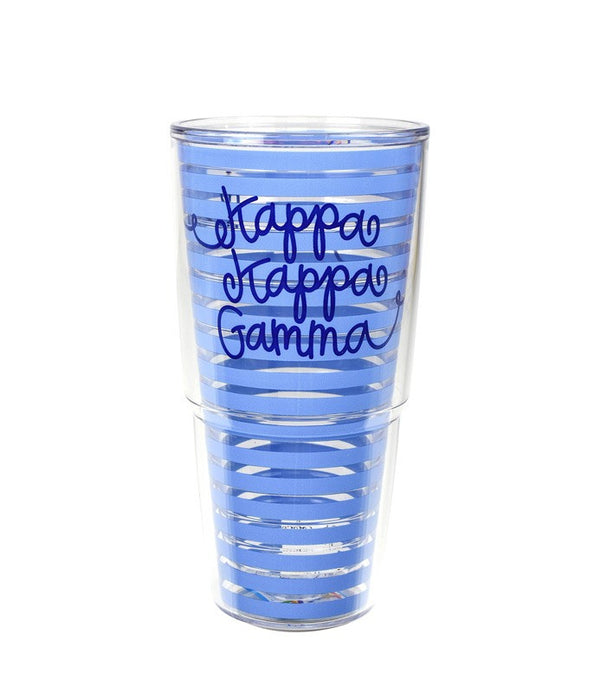 Kappa Kappa Gamma Tervis Tumbler in fun sorority colors