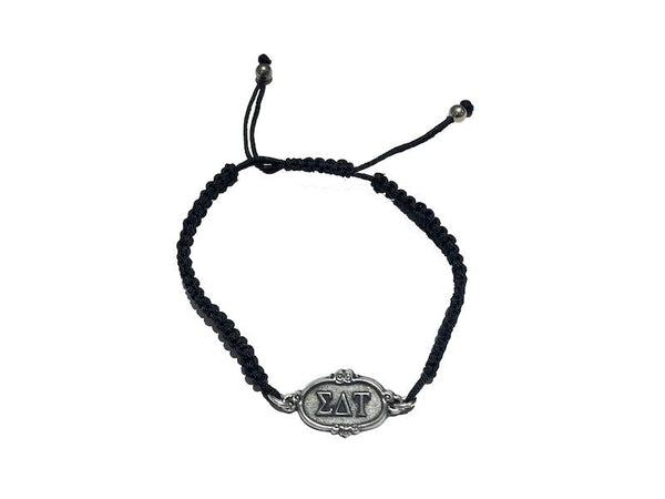 Sigma Delta Tau Adjustable Bracelet