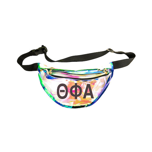 Theta Phi Alpha Fanny Pack with Black Greek Letters