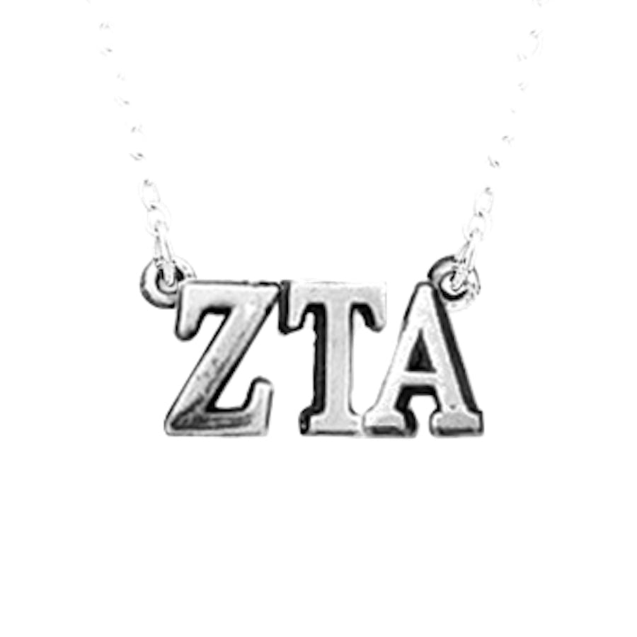 Zeta Tau Alpha necklace, choker style.