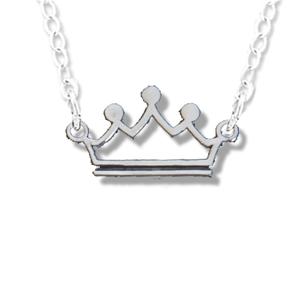 Zeta Tau Alpha Crown Necklace