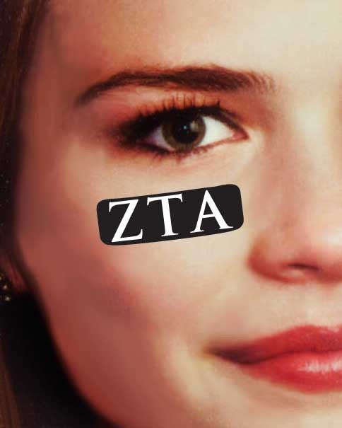 Zeta Tau Alpha Stickers Set of 7 for Gamd Day