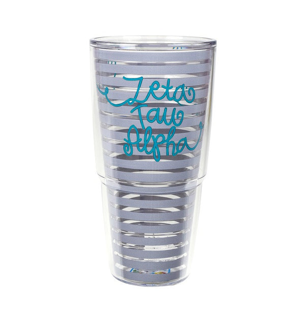 Zeta Tau Alpha Tervis Tumbler in fun sorority colors
