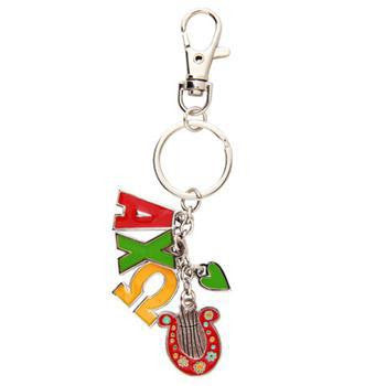 Alpha Chi Omega Keychains with Symbol