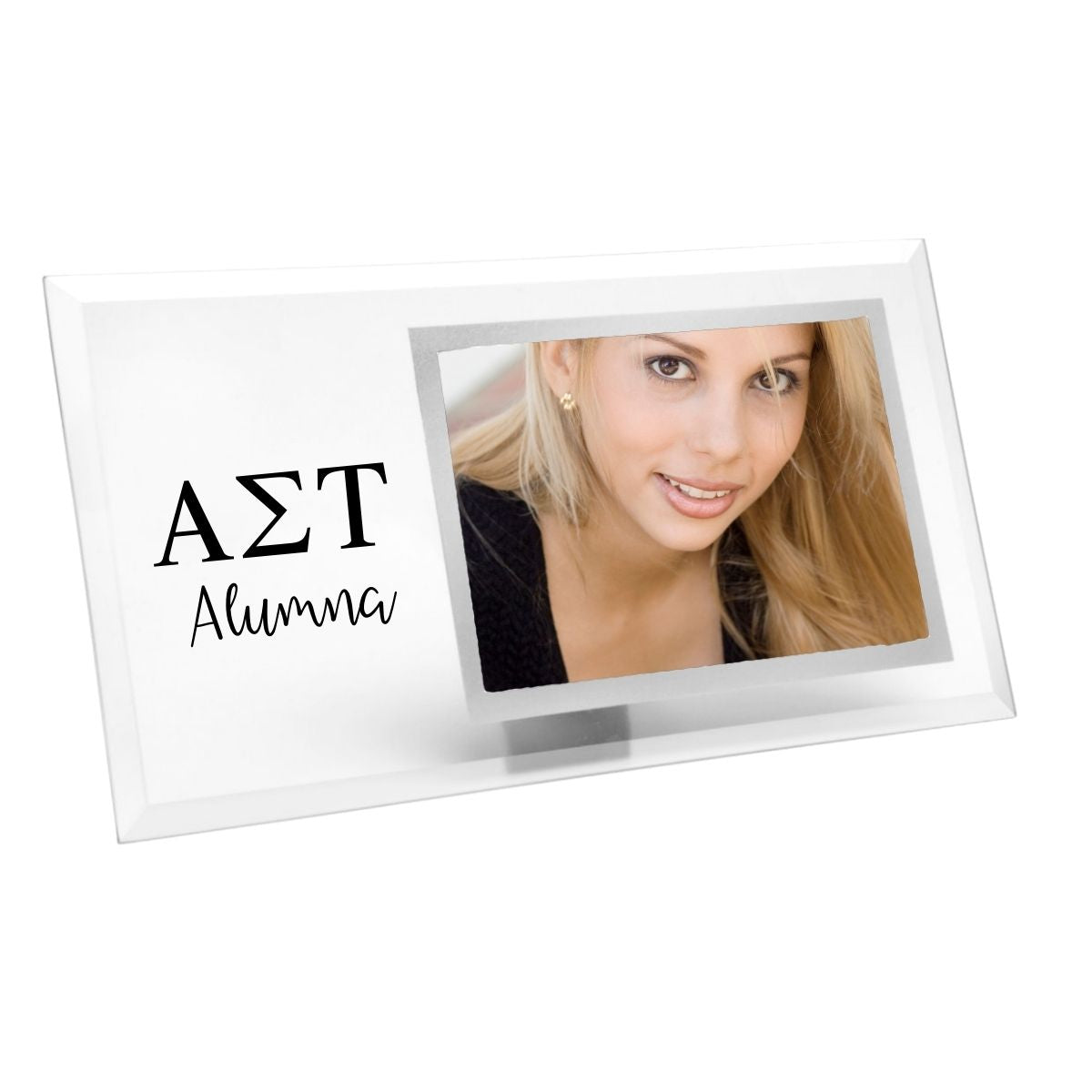 Sorority Alumna Picture Frames I Glass I 4x6 Photo