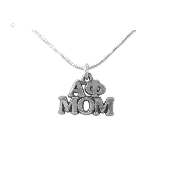 Alpha Phi Mom Charm the perfect sorority mom gift!