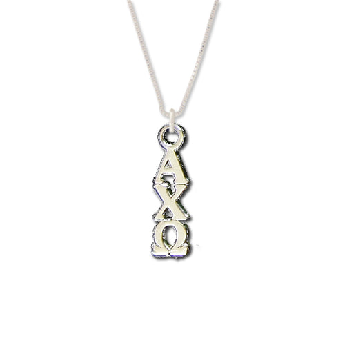 Alpha Chi Omega Lavalier . Sterling Silver or Gold