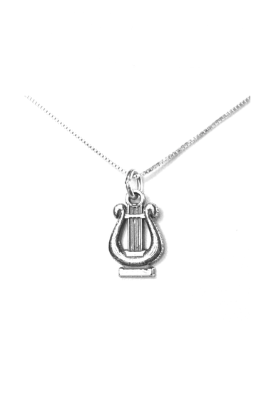 Alpha Chi Omega Lyre Charm. Alpha Chi Omega apparel & accessories > jewelry > charms & pendants.