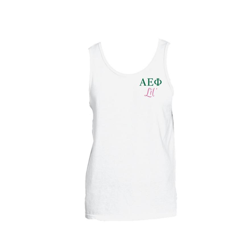 Alpha Epsilon Phi Little Little Tank Top