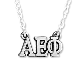 Alpha Epsilon Phi Necklace . Greek Letters