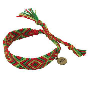 Alpha Gamma Delta Friendship Bracelet