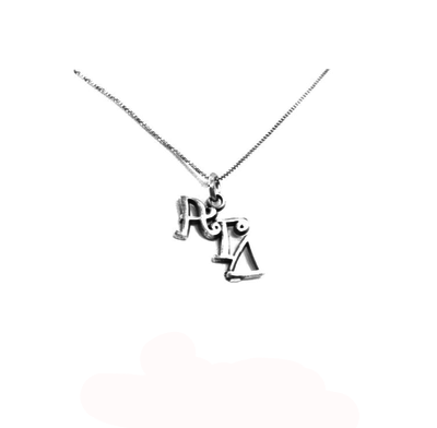 Alpha Gamma Delta charm for your sorority necklace. Sterling Silver sorority charm.