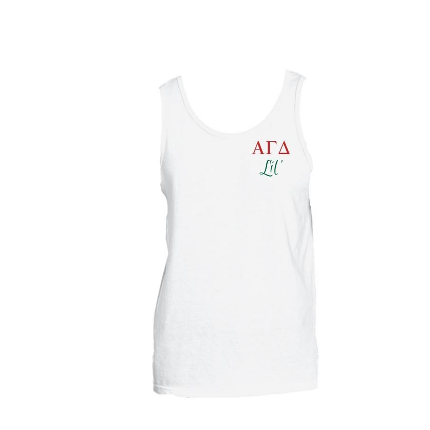 Alpha Gamma Delta Little Little Tank Top