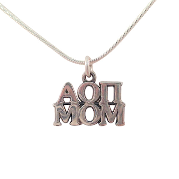 Alpha Omicron Pi Mom Charm the perfect sorority mom gift!