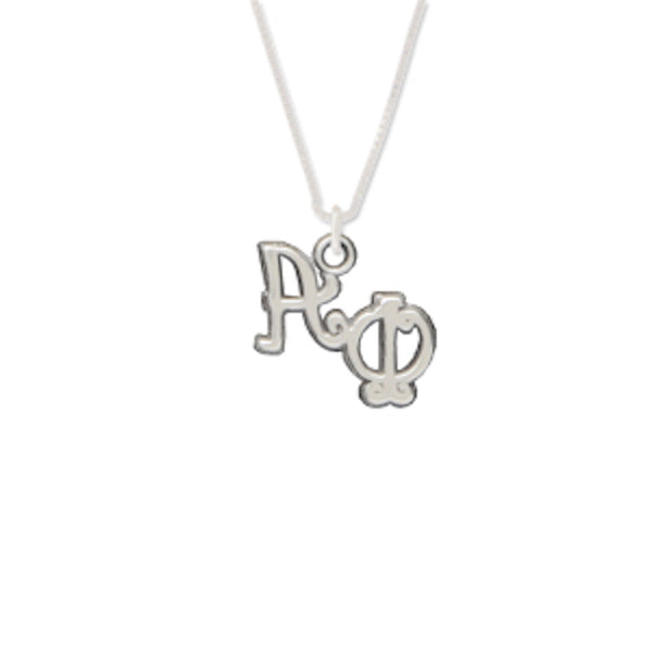 Alpha Phi charm for your sorority necklace. Sterling Silver sorority charm.