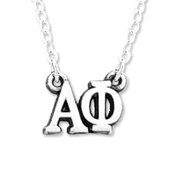 Alpha Phi Necklace . Greek Letters