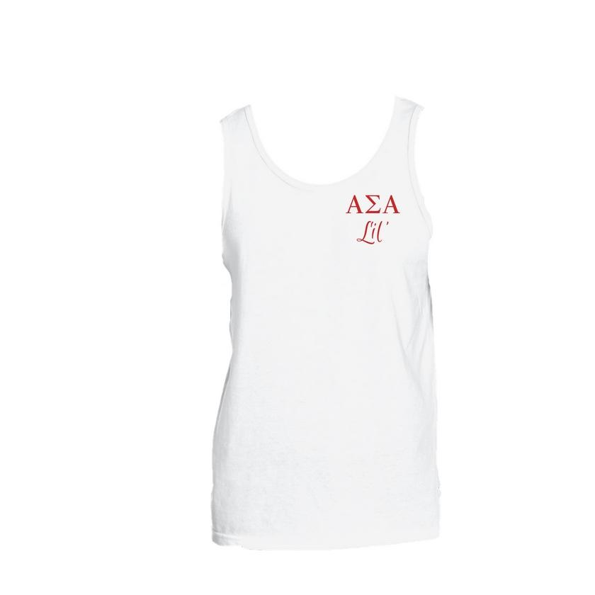 Alpha Sigma Alpha Little Little Tank Top
