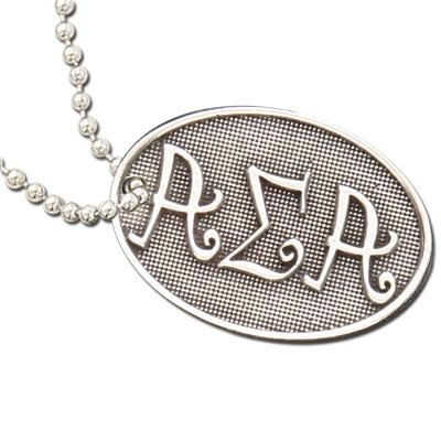 Alpha Sigma Alpha Luggage tag. Pewter Sorority Luggage Tag is the perfect $10 sorority gift. #AlphaSigmaAlpha merchandise to love. #ASA