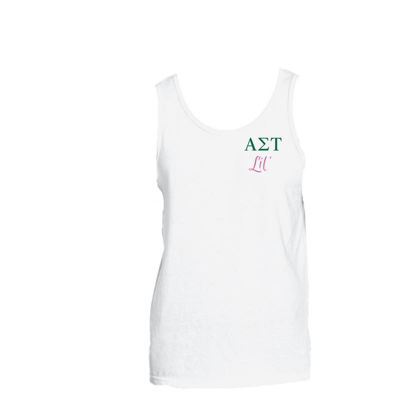 Alpha Sigma Tau Little Little Tank Top
