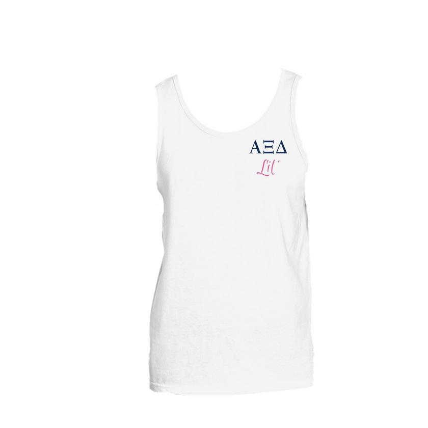 Alpha Xi Delta Little Little Tank Top