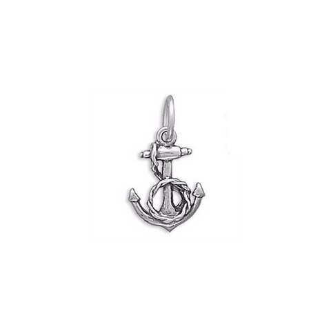Anchor rope charm