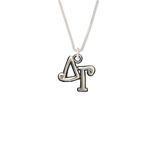 Delta Gamma charm for your sorority necklace. Sterling Silver sorority charm.