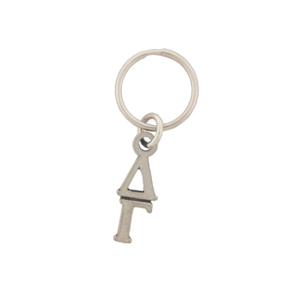 Delta Gamma Pewter keychain. Sorority keyrings make great sorority gifts.