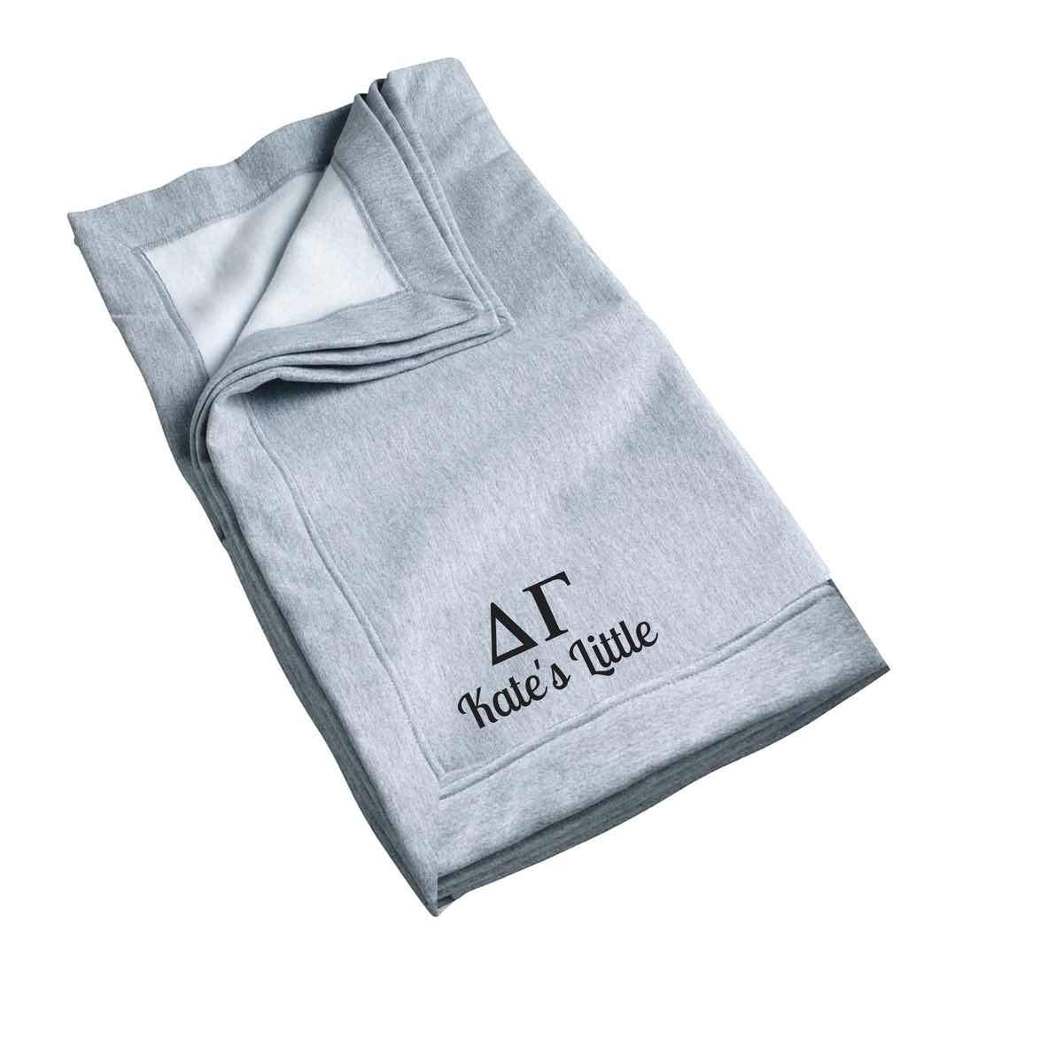 Delta Gamma Little Blanket, Recommended One Size Fits All Personalized Big Little Gift