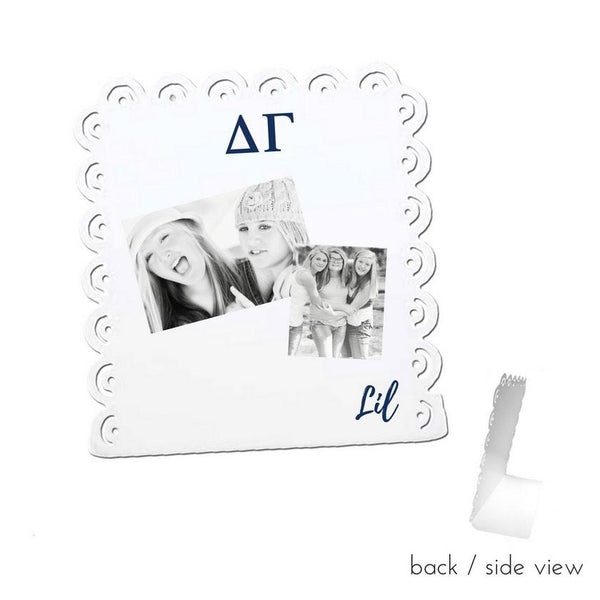 Delta Gamma Little Sign for Desk or Shelf; Cute Big Little Gift for Reveal