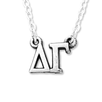 Delta Gamma necklace, choker style.
