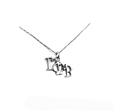 Gamma Phi Beta charm for your sorority necklace. Sterling Silver sorority charm.