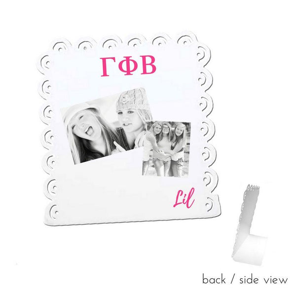 Gamma Phi Beta Little Sign for Desk or Shelf; Cute Big Little Gift for Reveal