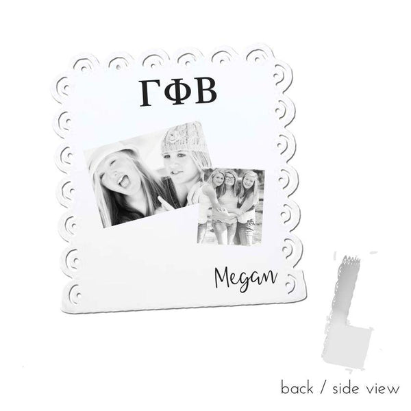 Gamma Phi Beta Sign Stand I Magnetic I 2 Styles I Optional Personalization
