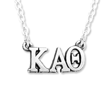 Kappa Alpha Theta necklace, choker style.