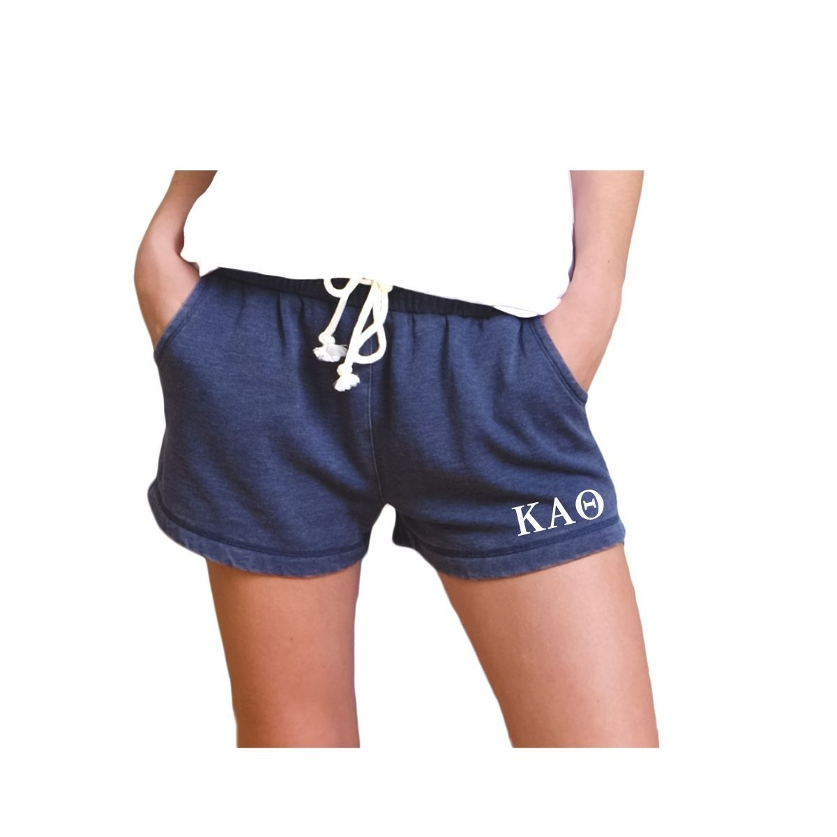 Kappa Alpha Theta Shorts . Greek Letters . Pockets