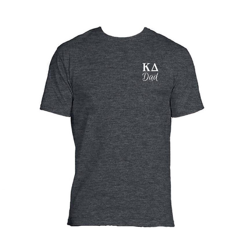 Kappa Delta Dad T-shirt . Greek Letters