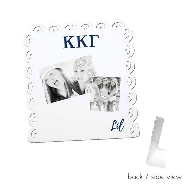Kappa Kappa Gamma Little Sign for Desk or Shelf; Cute Big Little Gift for Reveal
