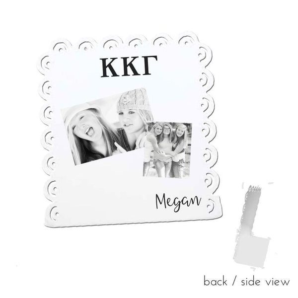 Kappa Kappa Gamma Sign Stand I Magnetic I 2 Styles I Optional Personalization