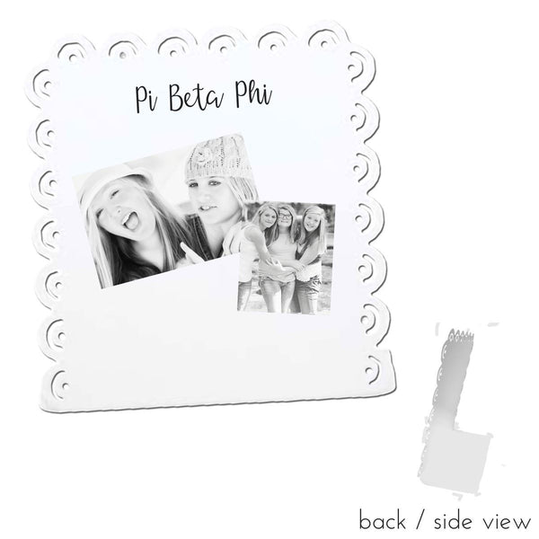 Pi Beta Phi Sign Stand I Magnetic I 2 Styles I Optional Personalization