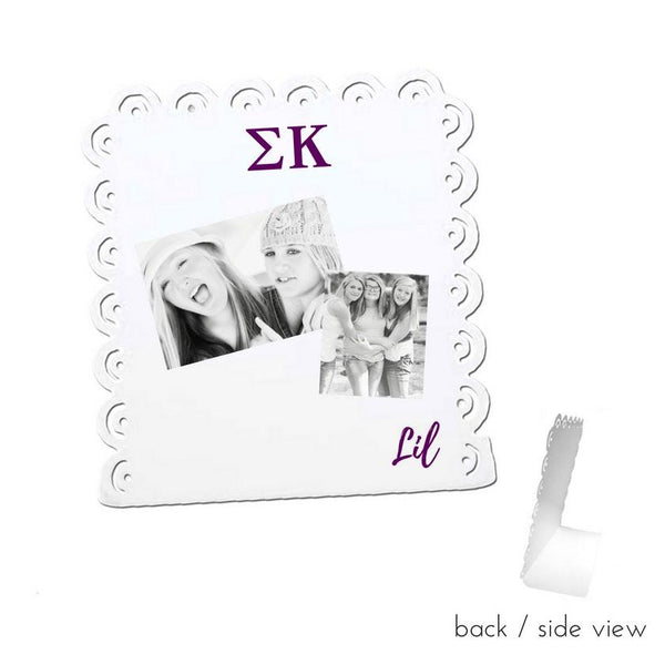 Sigma Kappa Little Sign for Desk or Shelf; Cute Big Little Gift for Reveal