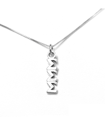 Sigma Sigma Sigma Lavaliers sterling silver. Add a 16 in, 18 in, or 20 in sterling silver box chain. Is it a gift? Let us ship for you in a gift box tied with ribbon and a handwritten gift card.