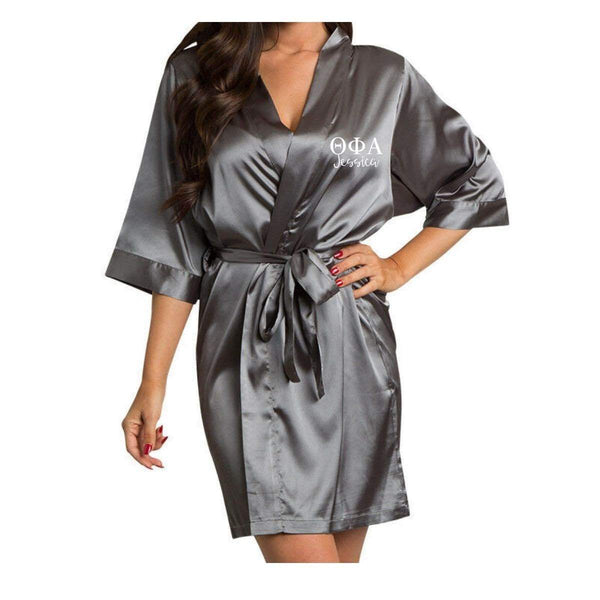 Theta Phi Alpha Robe I Satin I Optional Personalization