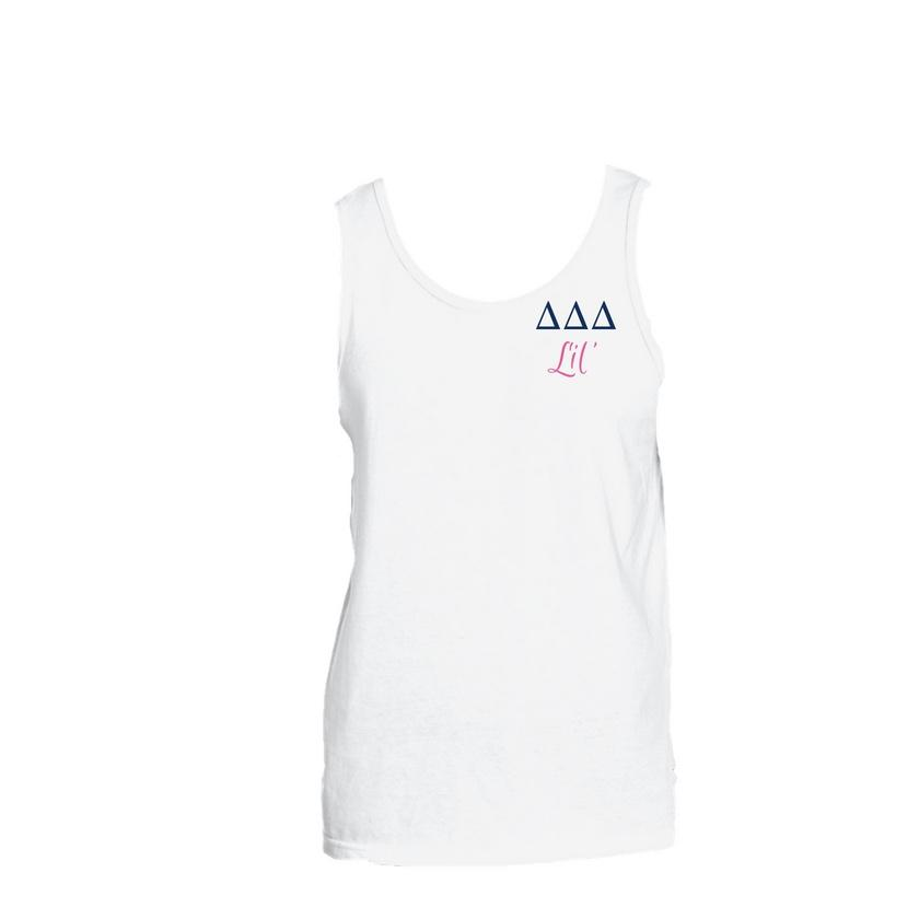 Tri Delta Little Little Tank Top