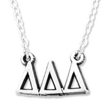 Delta Delta Delta Necklace . Greek Letters