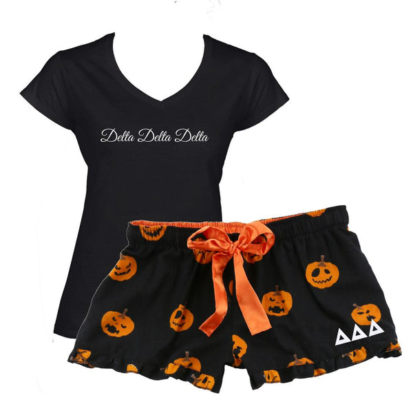 Sorority Pumpkin Boxer Shorts I Optional V-neck & Gift Wrapping