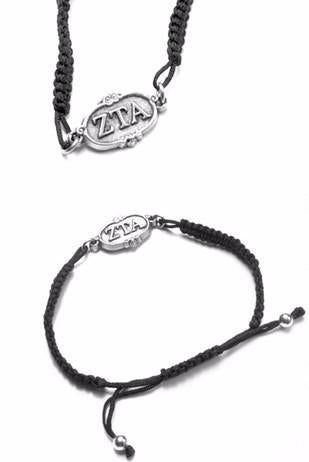 Zeta Tau Alpha Adjustable Bracelet